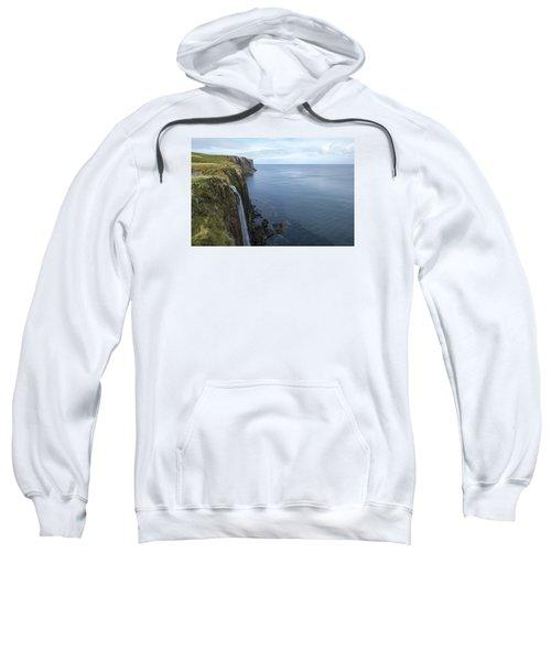 Kilt Rock Waterfall Isle Of Skye, Uk Sweatshirt