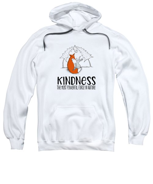 Kindness Fox And Bunny Sweatshirt