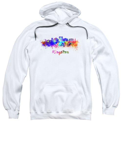 Kingston Skyline In Watercolor Sweatshirt