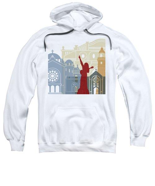 Kingston Skyline Poster Sweatshirt