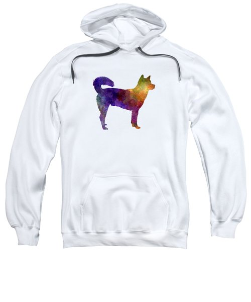 Kishu In Watercolor Sweatshirt