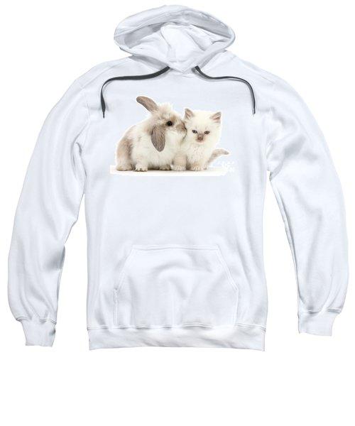 Kiss Her Fluffy Cheek Sweatshirt