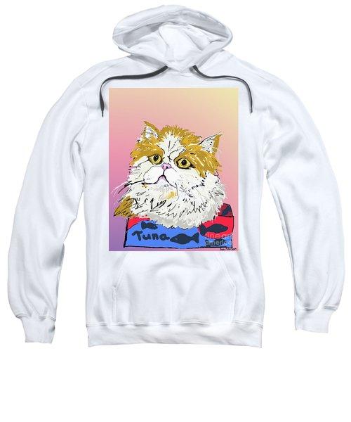 Kitty In Tuna Can Sweatshirt