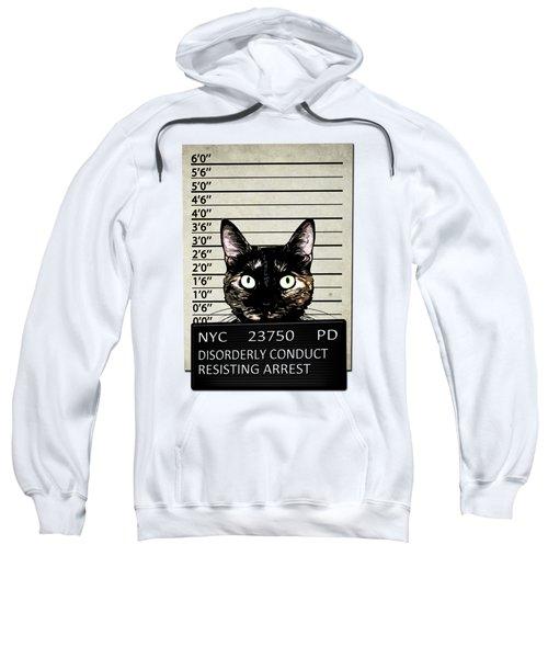 Kitty Mugshot Sweatshirt