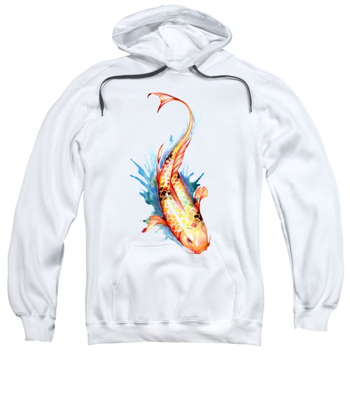 Koi Fish II Sweatshirt by Sam Nagel