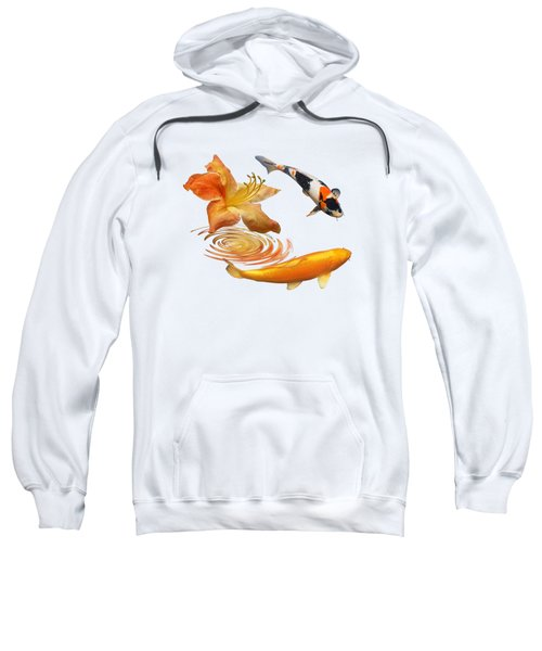 Koi With Azalea Ripples Sweatshirt
