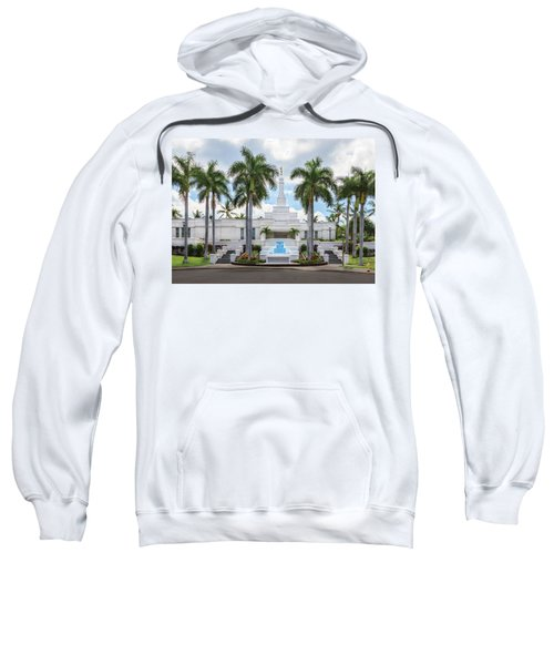Kona Hawaii Temple-day Sweatshirt