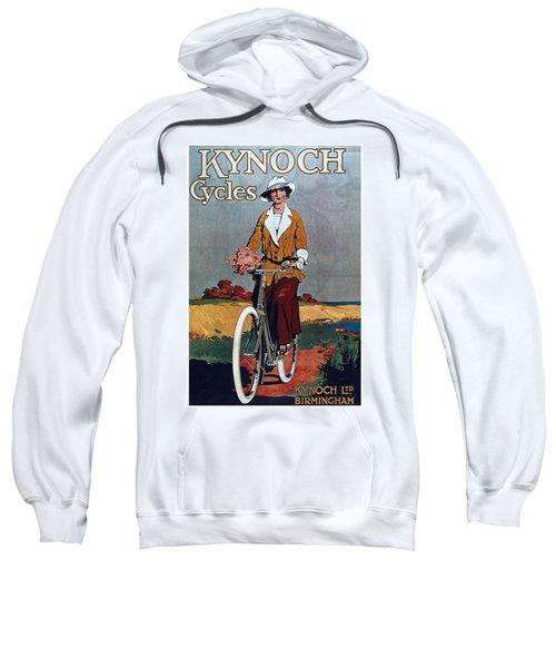Kynoch Cycles - Bicycle - Vintage Advertising Poster Sweatshirt