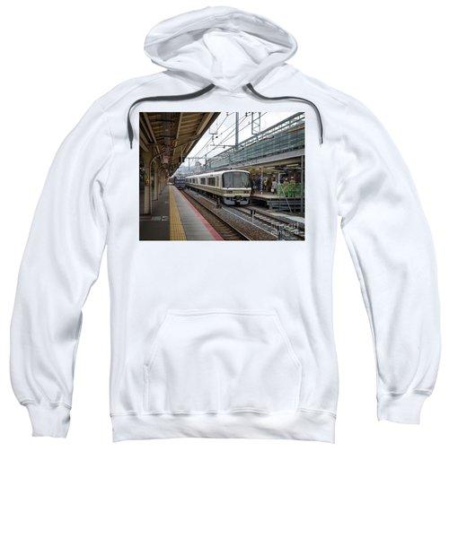 Kyoto To Osaka Train Station, Japan Sweatshirt