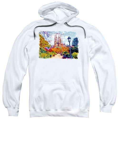 La Sagrada Familia - Park View Sweatshirt