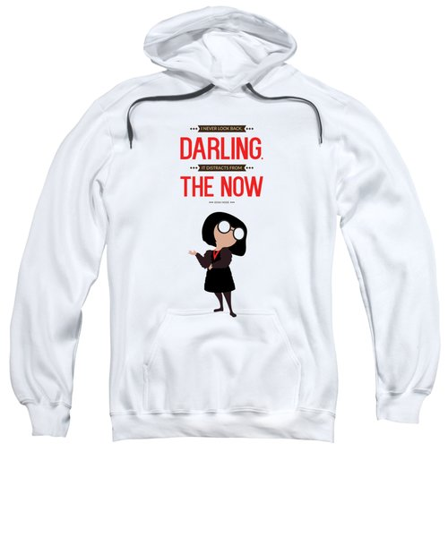 Lab No. 4 I Never Look Back Edna 'e' Mode The Incredibles Movie Quote  Sweatshirt