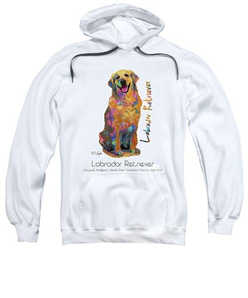 Labrador Retriever Pop Art Sweatshirt