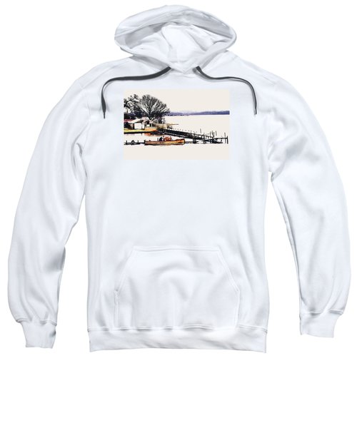 Sweatshirt featuring the photograph Lady Jean by Jeremy Lavender Photography
