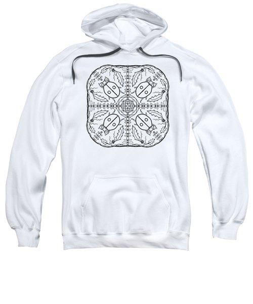 Ladybug Mandala Sweatshirt