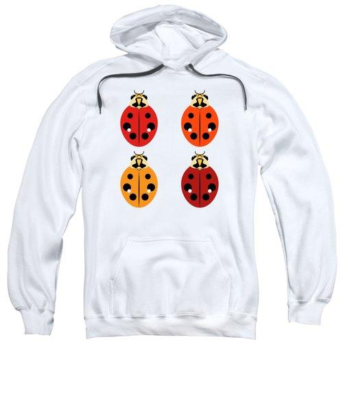 Ladybug Quartet Sweatshirt