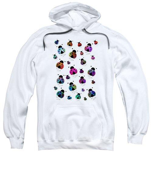 Ladybugs In Flight Sweatshirt