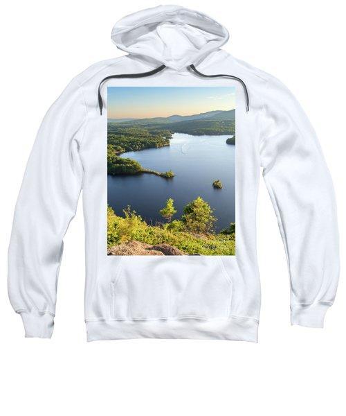 Lake Megunticook, Camden, Maine  -43960-43962 Sweatshirt