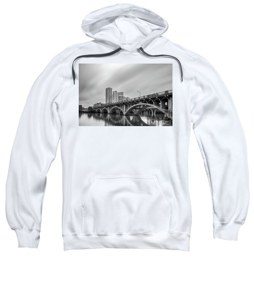 Lamar Bridge In Austin, Texas Sweatshirt