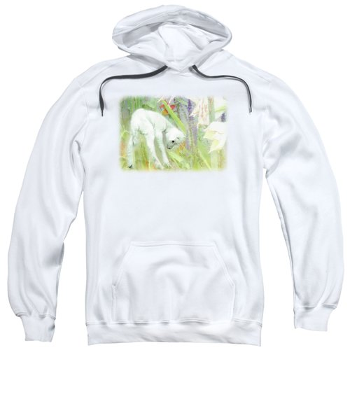 Lamb And Lilies Sweatshirt