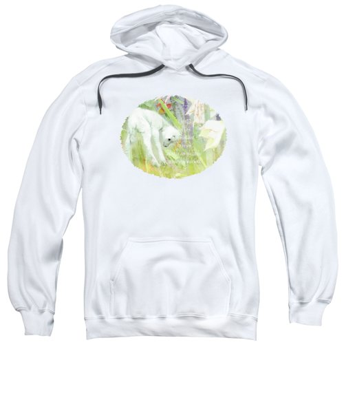 Lamb And Lilies - Verse Sweatshirt