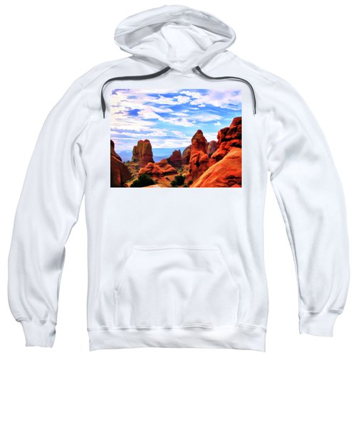 Land Of Moab - Watercolor Sweatshirt