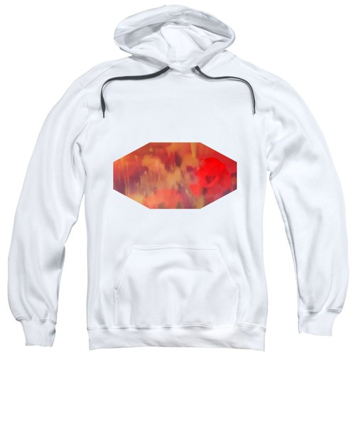 Landscape Of Dreaming Poppies Sweatshirt