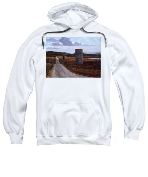Landscape With Silos Sweatshirt