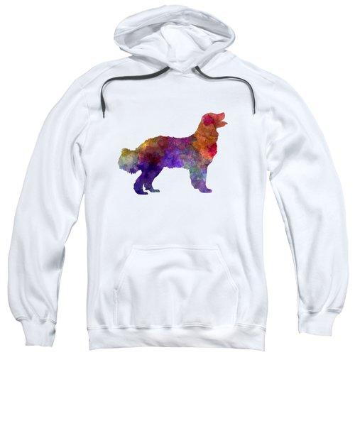 Landseer In Watercolor Sweatshirt