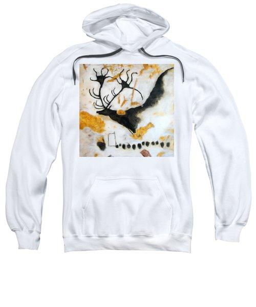 Lascaux Megaceros Deer Sweatshirt