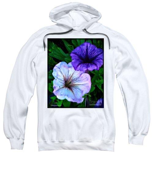 Last Of The Petunias   Sweatshirt