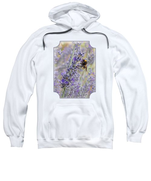 Lavender Bee Sweatshirt