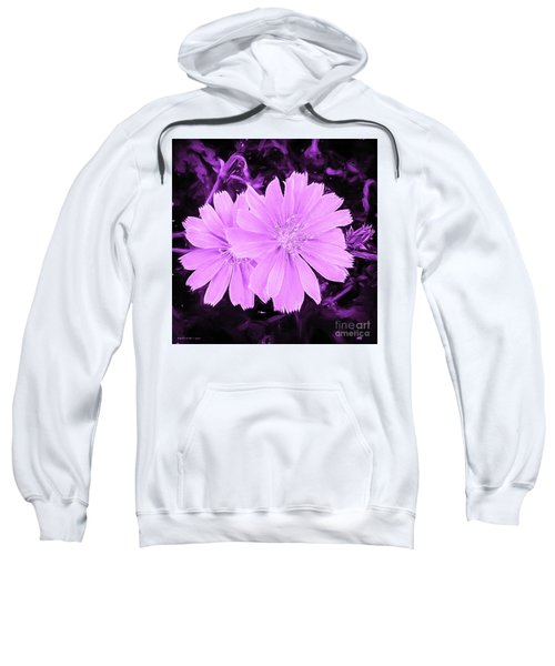 Blue Daisy Twins Lavender Sweatshirt