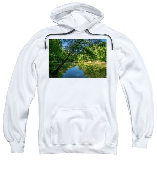 Lazy Summer Day On The River Sweatshirt
