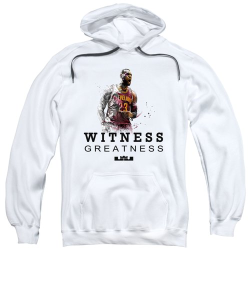 Lbj1 Sweatshirt by Jarryd Laurel