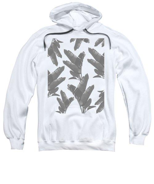 Leaf Pattern Sweatshirt