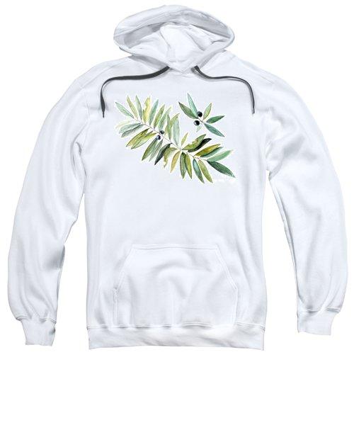 Leaves And Berries Sweatshirt