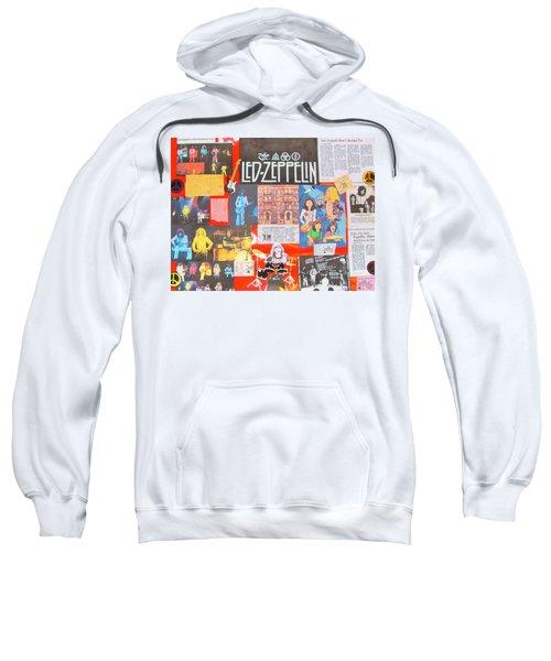 Led Zeppelin Color Collage Sweatshirt