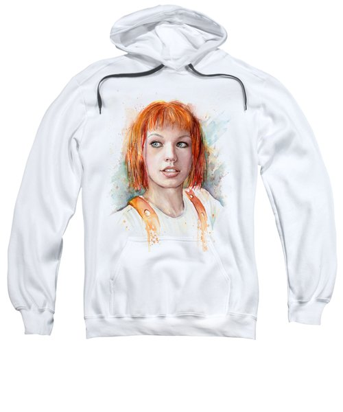 Leeloo Portrait Multipass The Fifth Element Sweatshirt