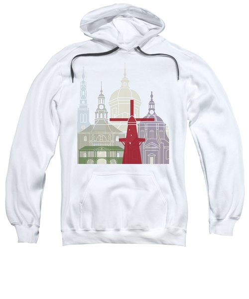 Leiden Skyline Poster Sweatshirt