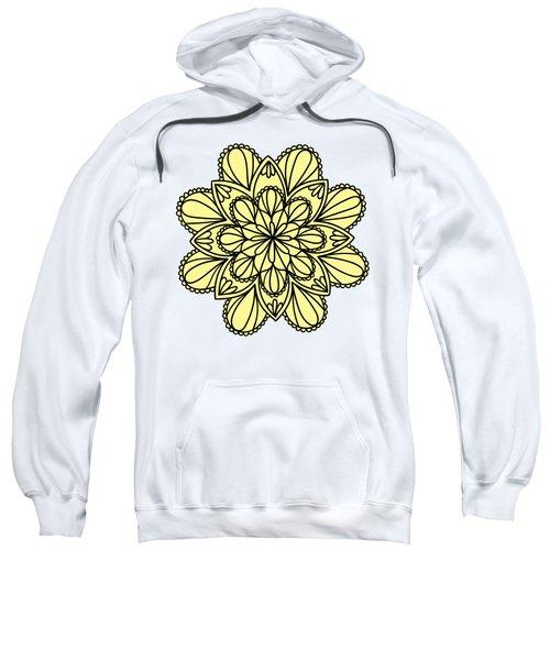 Lemon Lily Mandala Sweatshirt