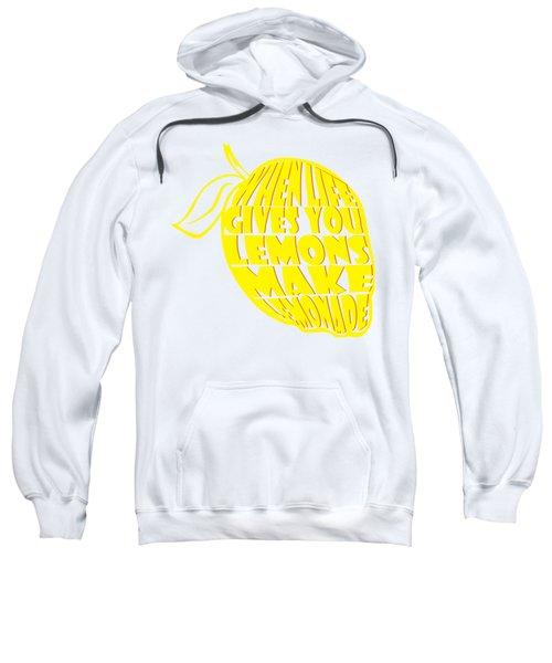 Lemonade Sweatshirt by Priscilla Wolfe
