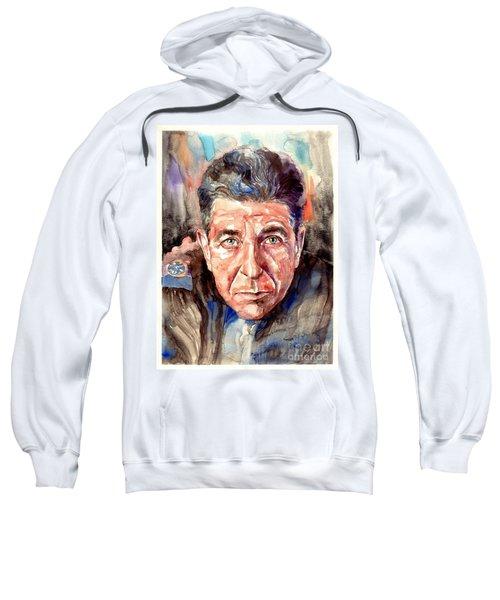 Leonard Cohen Painting Sweatshirt