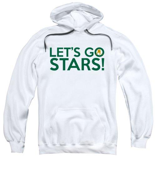 Let's Go Stars Sweatshirt by Florian Rodarte
