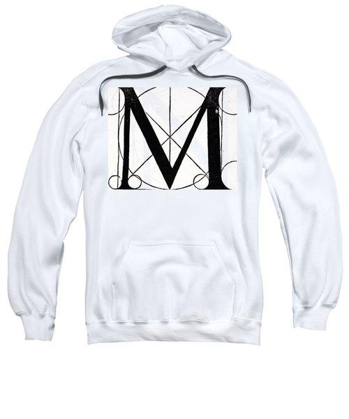 Letter M Sweatshirt