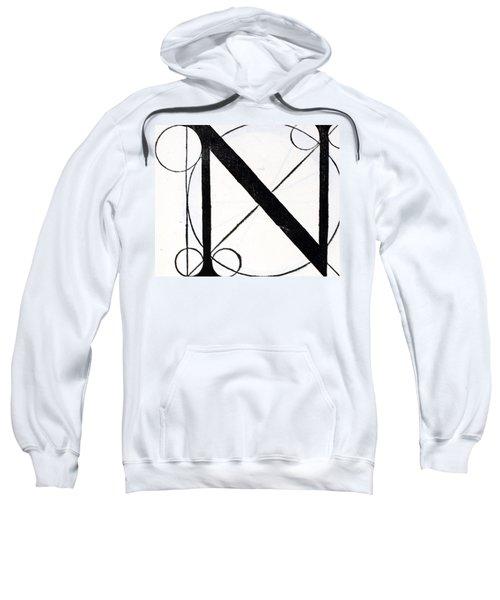 Letter N Sweatshirt