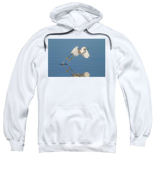 Lift Off- Snowy Egret Sweatshirt