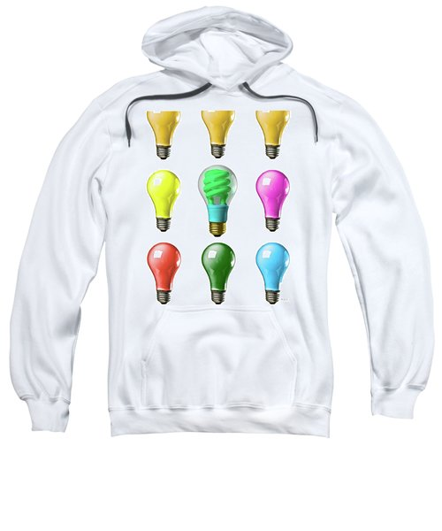 Light Bulbs Of A Different Color Sweatshirt