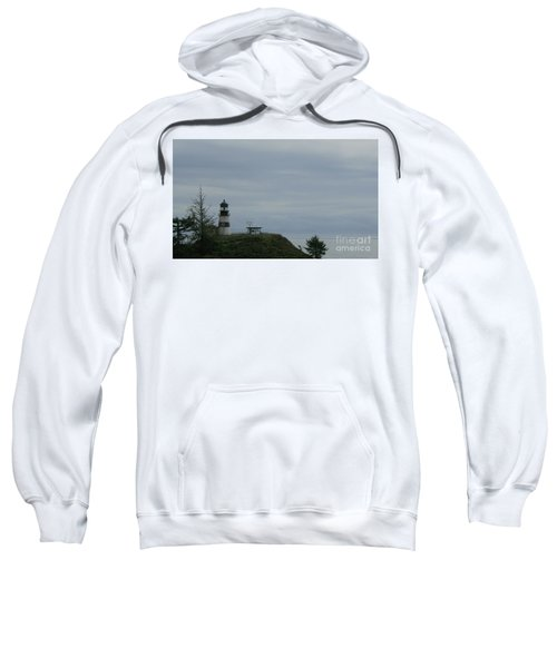 Lighthouse At Cape Disappointment Sweatshirt