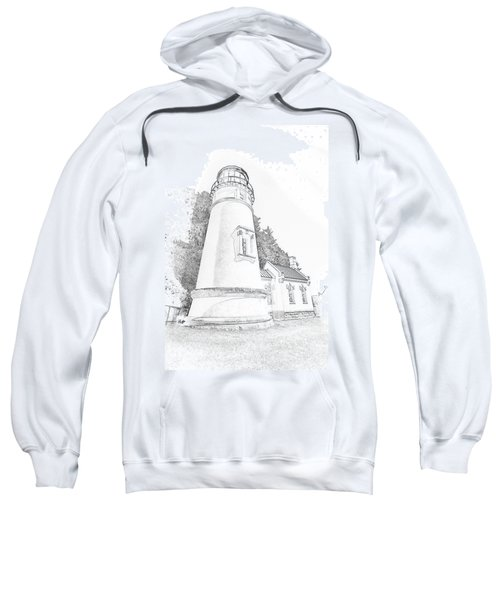 Lighthouse In Oregon Sweatshirt