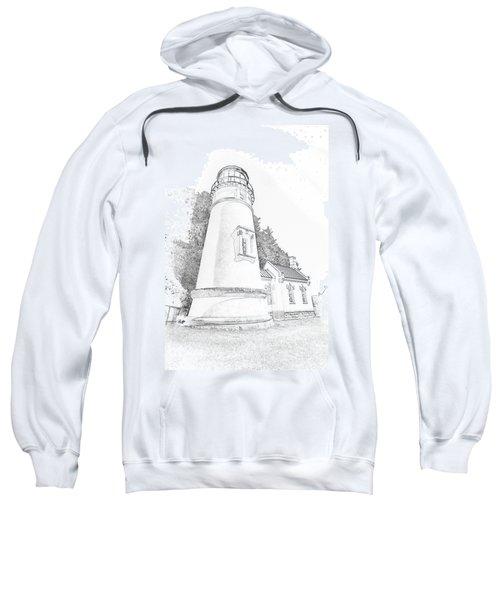 Lighthouse In Oregon Sweatshirt